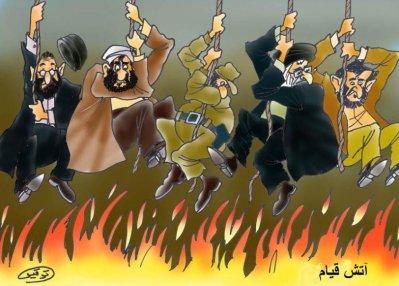 کاریکاتور از توفیق/ برگرفته از پیک ایران