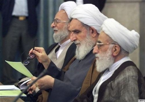 جنتی ، واعظ طبسی و مصباح یزدی، سران ایدئولوگ رژیم کودتا